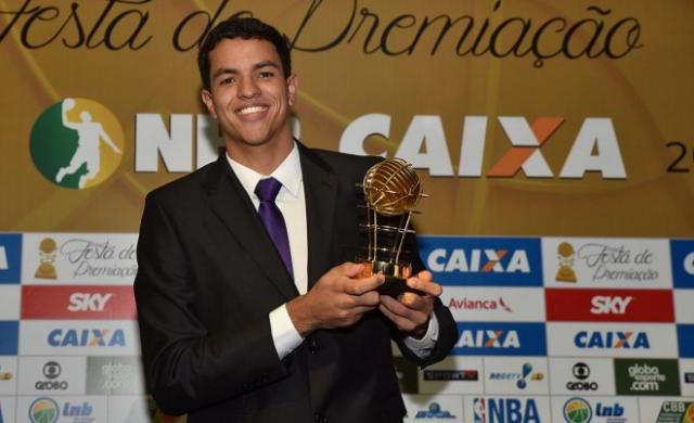 Lucas Dias, mejor joven (Foto: João Pires/LNB)
