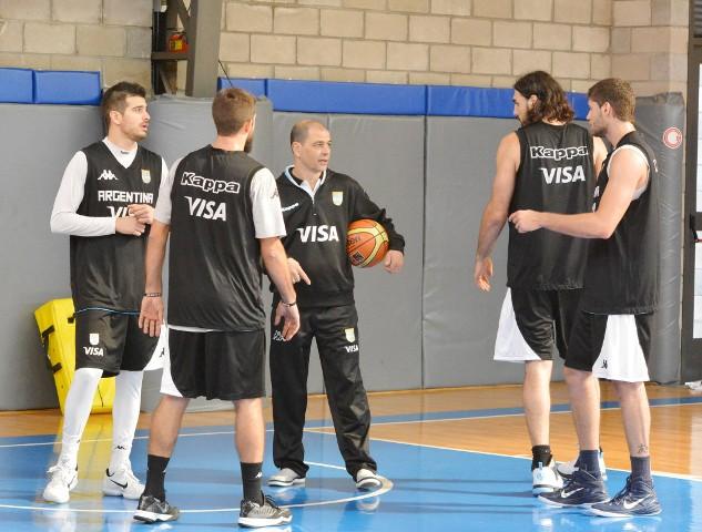 Selem Safar, Nico Laprovittola, Sergio Hernández y Patricio Garino (Foto: CABB)