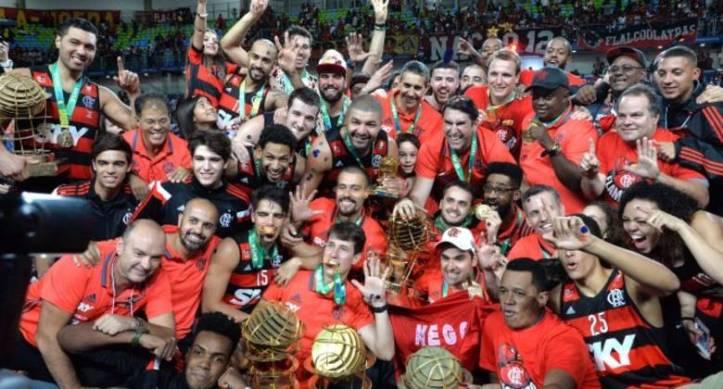 Flamengo, campeón del NBB 2016 (Foto: Fotojump/LNB)
