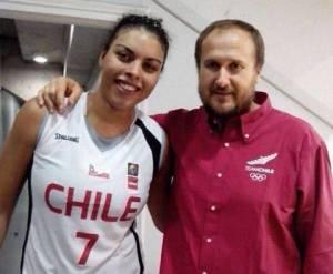 Ziomara Morrison y Richi González