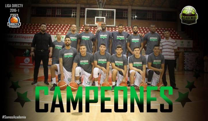 Academia de la Montaña, campeón de la Liga Directv 2016-I