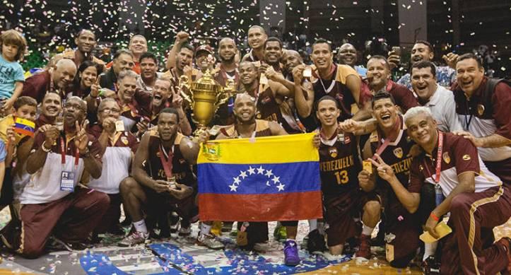 Venezuela, campeón del FIBA Américas (Foto: FIBA)