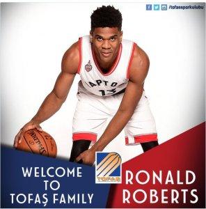 Ronald Roberts llega al Tofas Bursa (Foto: @tofassporkulubu)