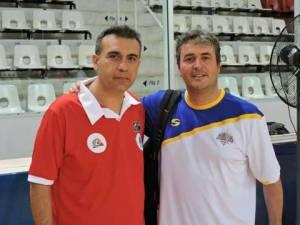 José Luis Dámaso y Sergio Valdeolmillos