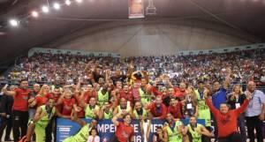 Guaros de Lara, campeón de la LDA 2016 (Foto: FIBA)