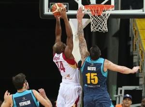 Miguel Ruiz y Esteban Batista (Foto: FIBA)