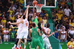 El palmeo ganador de Marquinhos Vieira (Foto: FIBA)