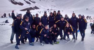 Pretemporada en la nieve (Foto: Boca Juniors)