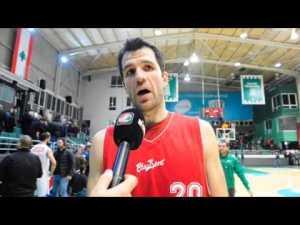 Branko Cvetkovic, en Líbano