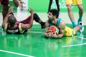 David Cubillán y Kevin Lisch (Foto: FIBA)