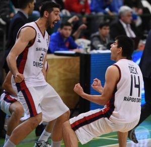 Mathías Calfani y Gabriel Deck (Foto: LNB Contenidos)