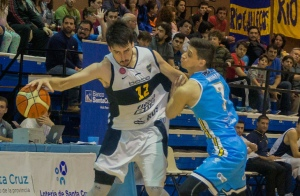Lucas Gargallo y Sebastián Mignani (Foto: LNB Contenidos)