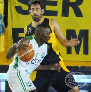 Ramón Clemente y Fotis Lampropoulos (Foto: LNB Contenidos)