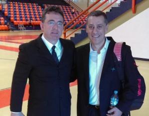 Luis Moreno y Alejandro Martínez (Foto: @3aaamp)