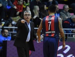 Julio Lamas y Penka Aguirre (Foto: LNB Contenidos)