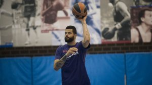 Vitor Faverani (Foto: @FCBBasket)