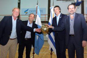 Esteban Bullrich, Fernando Cáceres, Federico Susbielles y Ricardo Vairo (Foto: CABB)