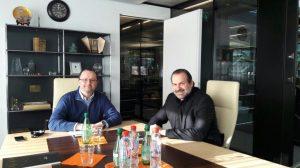 Patrick Baumann y Federico Susbielles (Foto: CABB)