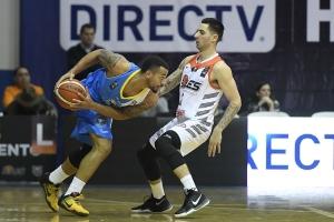 Trevor Gaskins y Alex Pérez (Foto: FIBA Américas)