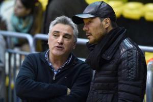 Julio Lamas y Marcelo Tinelli (Foto: La Liga Contenidos)