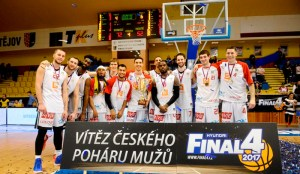 CEZ Nymburk, campeón de la Copa 2017 (Foto: NBL.cz)