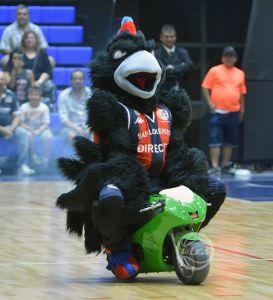 El Cuervo, mascota de San Lorenzo (Foto: La Liga Contenidos)