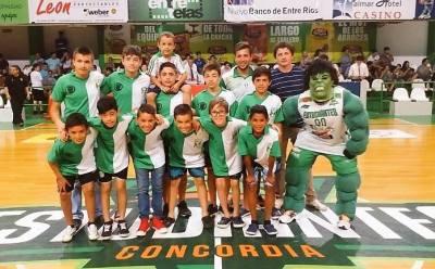El Gigante Verde, mascota de Estudiantes (Foto: La Liga Contenidos)