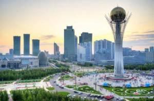 Panorámica de la ciudad de Astana