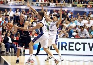 Arroyo, Ramos y Corvalán (Foto: FIBA)