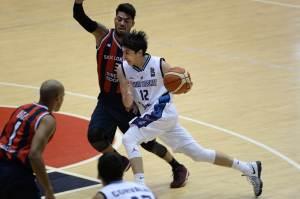 Lucio Redivo y Penka Aguirre (Foto: FIBA)