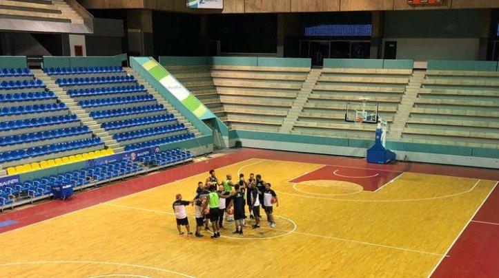 Vinotinto Baloncesto 1ra Práctica con Duró