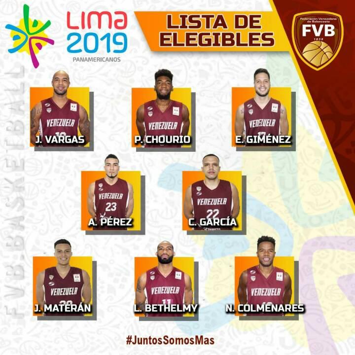 Elegibles Venezuela Basketball 5 x 5
